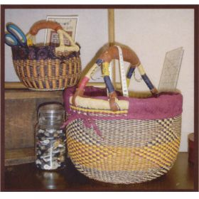 BASKET LINERS - ROUND PATTERN