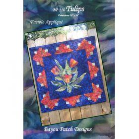 Tulips - Fusible Applique' Pattern