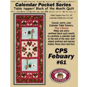 Calendar Pocket Series - Feburary Pattern