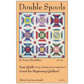 DOUBLE SPOOLS QUILT PATTERN