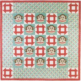 Monkey Face Quilt Pattern*