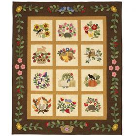 Wooly Critter Sampler Quilt Pattern