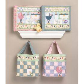 SCRAPBOOK COVER & TOTE-BABY