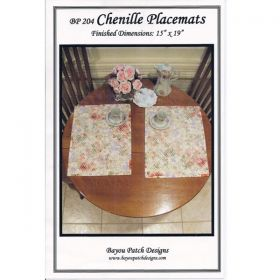 Chenille Placemats Pattern