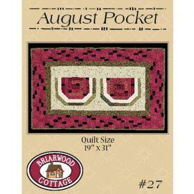August Pocket Watermelon Quilt Pattern