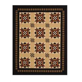 Checkerboard Stars Quilt Pattern