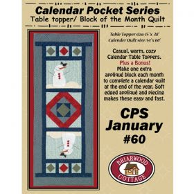 Calendar Pocket Series - January Pattern