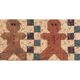 THOUGHTS OF CHRISTMAS-ROW 8 GINGERBREAD MEN