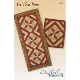 In The Box Table Runner & Place Mat Quilt Pattern