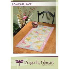 Diamond Daze Table Runner Quilt Pattern Card