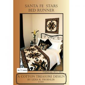 Santa Fe Stars Bed Runner/Wall Hanging Pattern