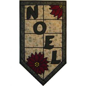 NOEL STAINED GLASS PATTERN*