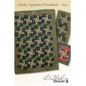 Lucky Squares & Pinwheels Pattern