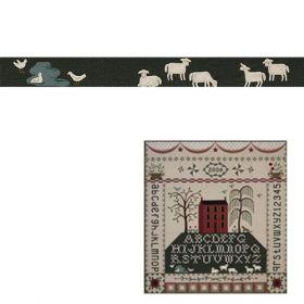 PASTORAL SAMPLER-DUCKS, POND  & SHEEP