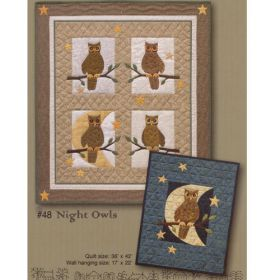 NIGHT OWLS QUILT PATTERN