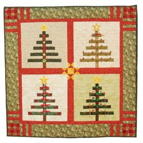 TREES TO TRIM QUILT PATTERN*