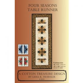 FOUR SEASONS TABLE RUNNER QUILT PATTERN