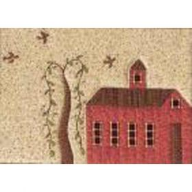 QUILTED VILLAGE #1 SCHOOLHOUSE