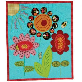 Bloom Where You're Planted Tabletop Mini Quilt Pattern*