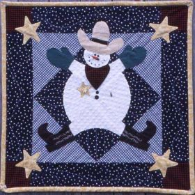 SHERIFF SLEETUS QUILT PATTERN*