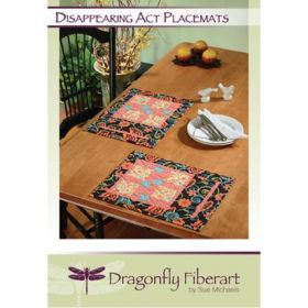 Disappearing Act Placemats Quilt Pattern Card
