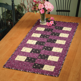 Bricklayer's Daughter Table Runner Quick Card Pattern
