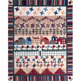COUNTRY VILLAGE QUILT PATTERN-COMPLETE SET