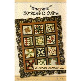 Windham Sampler II Quilt Pattern