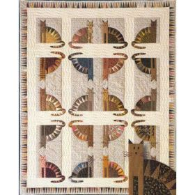 SAWTOOTH CATS QUILT PATTERN