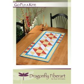 Go Fly A Kite Table Runner  Quilt Pattern Card