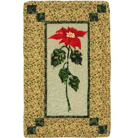 PEACEFUL POINSETTIA QUILT PATTERN