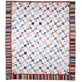 Scrap Basket Quilt Pattern