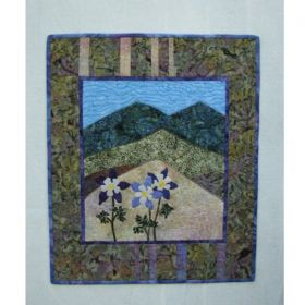 Majestic Columbines Quilt Pattern