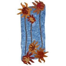 SWAYING SUNFLOWERS QUILT PATTERN