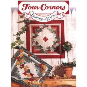 LEAVES AND LOG CABINS QUILT PATTERN
