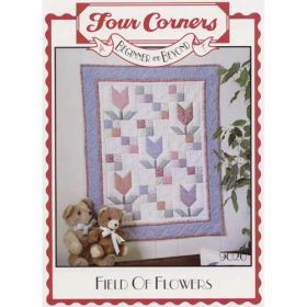 FIELD OF FLOWERS QUILT PATTERN