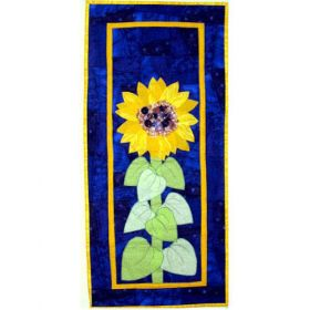 SUNFLOWER AND SKY QUILT PATTERN