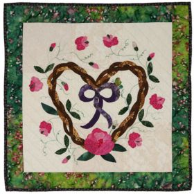 OH SWEET PEA  QUILT PATTERN
