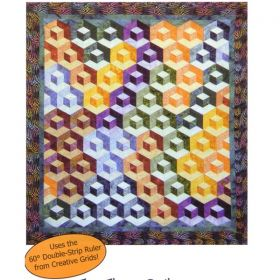 Double Dip Strip Quilt Pattern