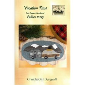 Vacation Time Wool Tank Topper/Candlemat Quilt Pattern