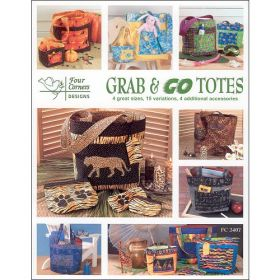 GRAB & GO TOTES QUILT PATTERN BOOK