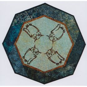 Wise Guys! Table Topper Quilt Pattern