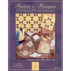 BASKETS & BOUQUETS QUILT PATTERN BOOK