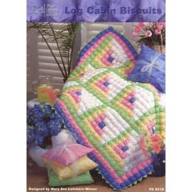 LOG CABIN BISCUITS QUILT PATTERN
