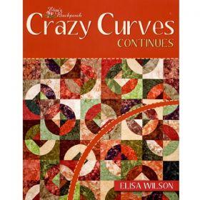 CRAZY CURVES CONTINUES QUILT BOOK