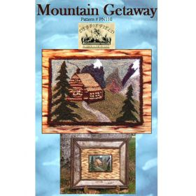 MOUNTAIN GETAWAY NEEDLE PUNCH PATTERN*