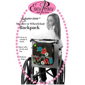 Eazier Livin' Stroller or Wheelchair Backpack Pattern