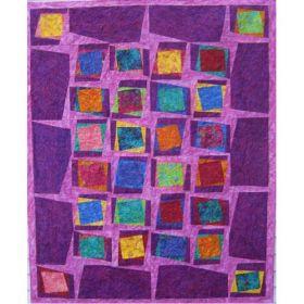 Greta's Kaleidoscope Baby, Lap & Twin Quilt Pattern