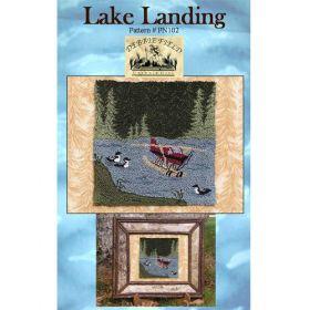 LAKE LANDING NEEDLE PUNCH PATTERN*