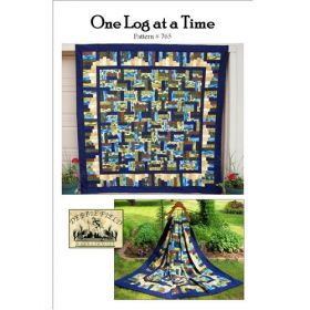 ONE LOG AT A TIME QUILT PATTERN
